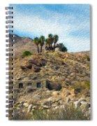 Andreas Canyon Dreams Spiral Notebook