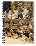 Angkor Thom Spiral Notebook