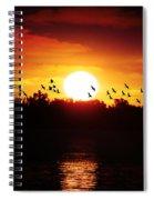 Another Sunset Spiral Notebook