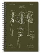 Antique Safety Razor Patent 1926 Spiral Notebook