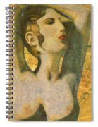 Aphrodite And Cyprus Map Spiral Notebook