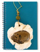 Aphrodite Earring Spiral Notebook