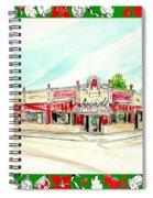 Arcade Restaurant Memphis Spiral Notebook