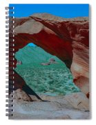 Arch Rock - Valley Of Fire State Park Spiral Notebook
