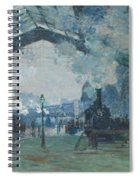 Arrival Of The Normandy Train Spiral Notebook