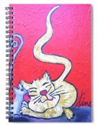 Art Cat Spiral Notebook