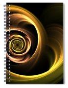 Art Dance Spiral Notebook