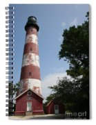 Assateague Lighthouse Spiral Notebook
