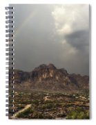 At The End Of The Rainbow  Spiral Notebook