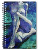 At The Full Moon Spiral Notebook