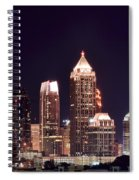 Atlanta From Above Spiral Notebook