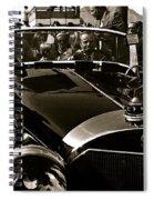 Auction Sale Last Ride Adolf Hitler's Model 770-k 1941 Mercedes-benz Touring Car Scottsdale Az 1973 Spiral Notebook