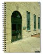 Aurora Transportation Center Spiral Notebook
