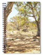 Australian Outback Oasis Spiral Notebook