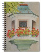 Austrian Window Spiral Notebook
