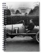 Automobiles Racing Spiral Notebook