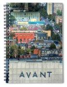 Avant  Spiral Notebook