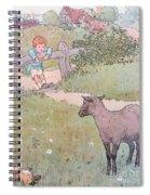 Baa Baa Black Sheep Spiral Notebook