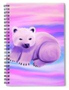 Baby Polar Bear  Spiral Notebook