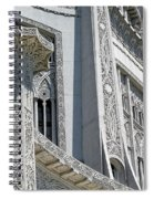 Bahai Temple Wilmette Spiral Notebook