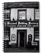 Bakewell  Pudding Factory In The Peak District - England Spiral Notebook