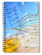 Baking Spiral Notebook