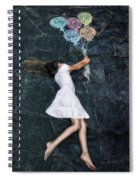 Balloons Spiral Notebook