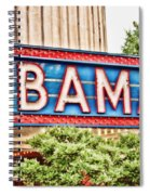 Bama Spiral Notebook