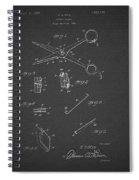 Barber Shears Patent 1927 Spiral Notebook