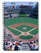 Baseball Stadium, Texas Rangers V Spiral Notebook