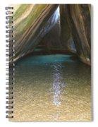 Bath Rocks  Spiral Notebook