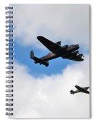 Battle Of Britain Memorial Flight Spiral Notebook