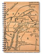 Battle Of Gettysburg, 1863 Spiral Notebook