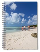 Beach At Coco Cay Spiral Notebook