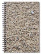 Beach Detail Spiral Notebook