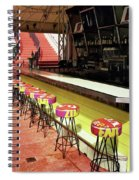 Before The Rush - South Beach Spiral Notebook