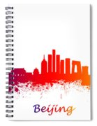 Beijing China Skyline  Spiral Notebook