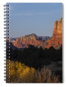 Bell Rock And Courthouse Butte Spiral Notebook