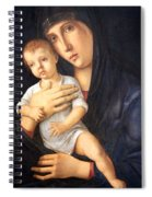 Bellini's Madonna And Child Spiral Notebook