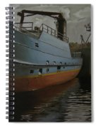 Bering Sea Spiral Notebook