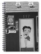 Betty Boop 2 Spiral Notebook