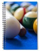 Billiard Balls Spiral Notebook
