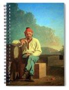 Bingham's Mississippi Boatman Spiral Notebook