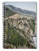 Bixby Bridge Vista Spiral Notebook