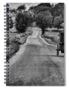 Black And White Buggy Spiral Notebook
