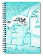 Blue Boys Spiral Notebook