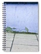 Blue Wall Spiral Notebook
