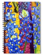 Bluebonnet Garden Spiral Notebook