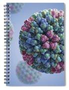 Bluetongue Virus Spiral Notebook