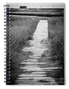 Boardwalk Through The Dunes Spiral Notebook